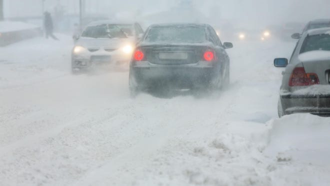Most winter accidents are caused by people driving too fast for the current road conditions.