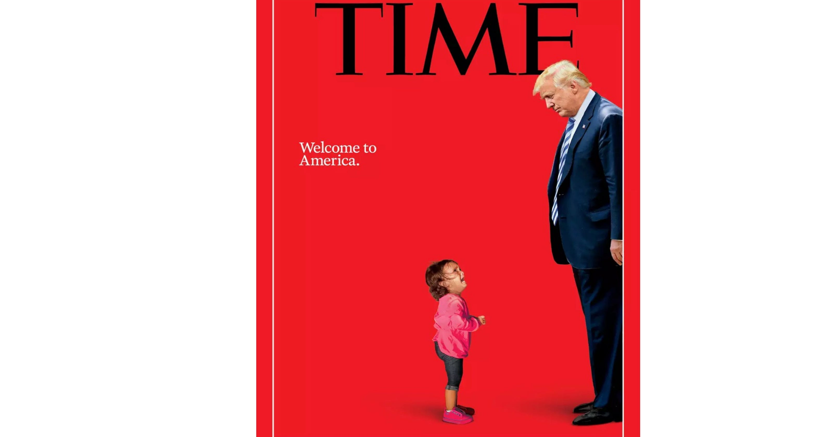 on Time magazine cover was never separated from mom, father says on