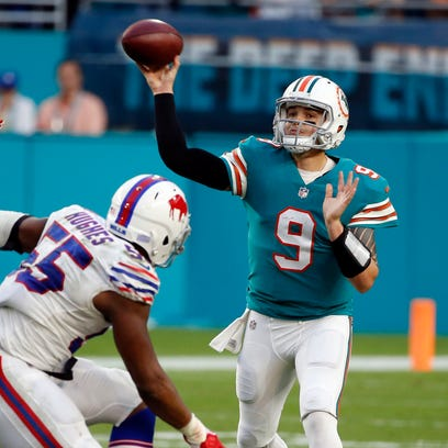 Palma graduate David Fales re-signs with Miami Dolphins