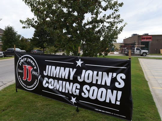 Jimmy John's was another big business opening in Mountain Home during 2014.