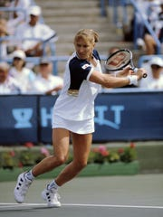 Steffi Graf won the women's title at the 1994 and 1996