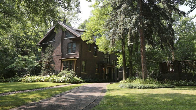 Own a bit of Ford history with this 1900s Indian Village honeymoon house built by Edsel and Eleanor Ford. Henry II and Benson Ford were born here. The home sits on three lots and comes with a carriage house. It's listed for $644,995.