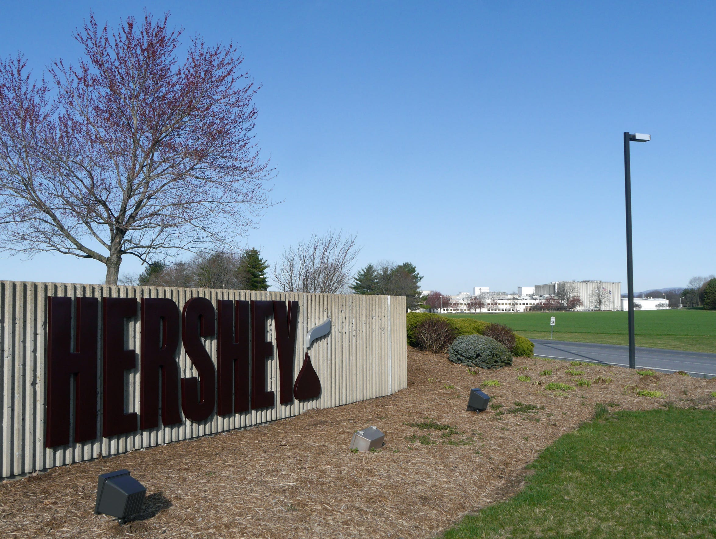 Hershey's plant in Stuarts Draft.