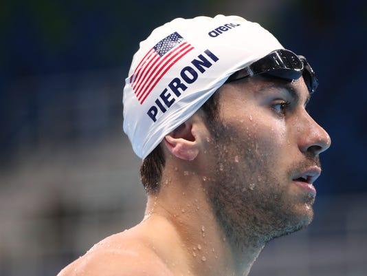 OLYMPICS: Swimming-USA Training