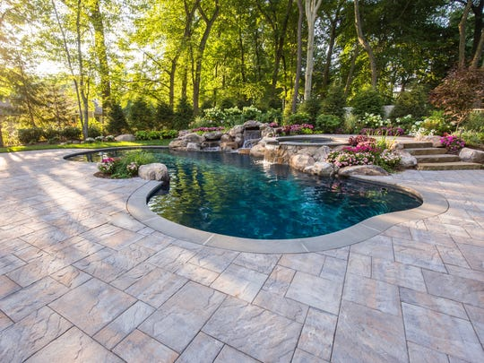 Thomas Flint Landscape Design & Development helped create this Woodcliff Lake backyard.