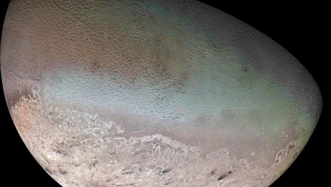 Triton, a large moon of Neptune's, likely belongs to the same class of dwarf planets as Pluto and Eris, suggest astronomers. It's one of the week's incredible discoveries.