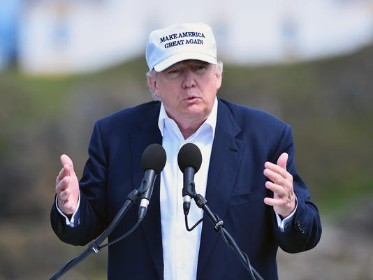 Donald Trump Opens His New Golf Course At Turnberry