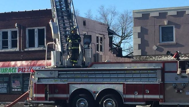 The fire was reported about 5:30 a.m.