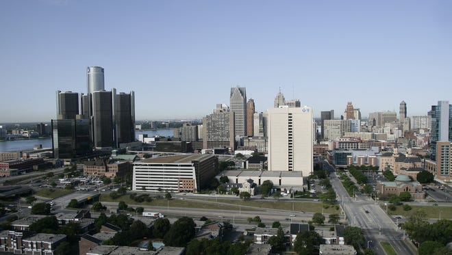 A view of Detroit.