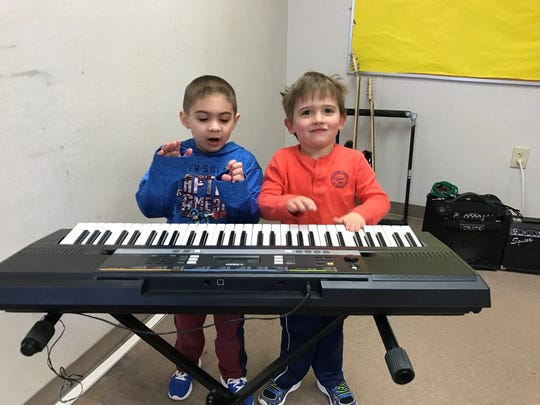 Students Angelo and Dylan from Ms. Zacharychuk's morning class.
