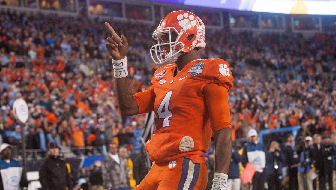 Final Playoff Projection: Clemson is a unanimous No. 1