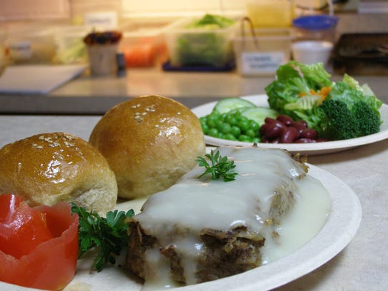 Simply Food's mushroom loaf. Rev and Tax says the Guam