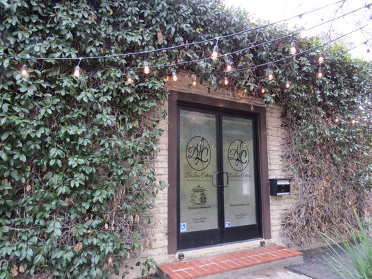 The DeLiese Cellars tasting room is located at the