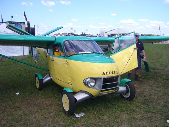 This is a 1956 Aerocar, one of five still in existence