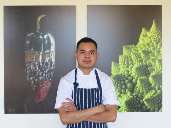 Chef Juan Agustin is chef and operator of Alma, a Ventura