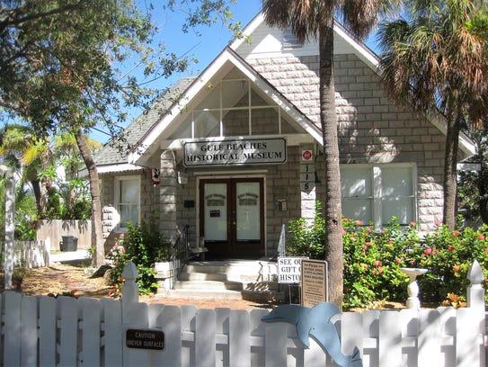The Gulf Beaches Historical Museum originally was built