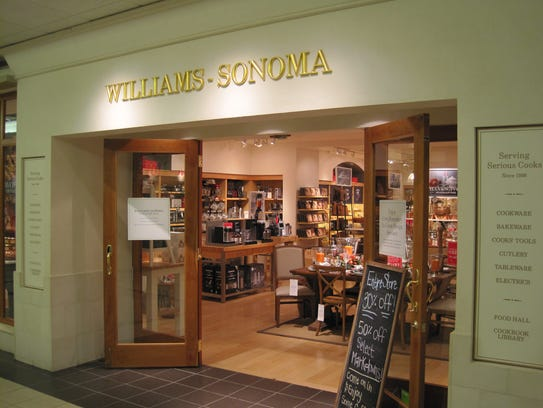 williams sonoma closing in downtown mall on jan 18. Black Bedroom Furniture Sets. Home Design Ideas