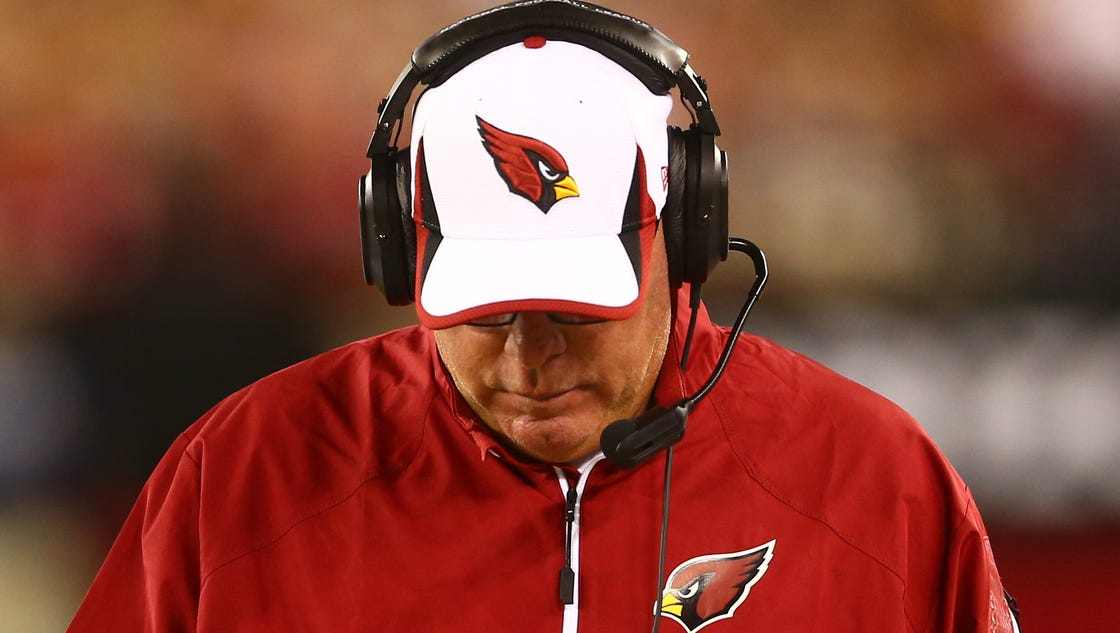Cardinals Bruce Arians Not Happy About Much Except