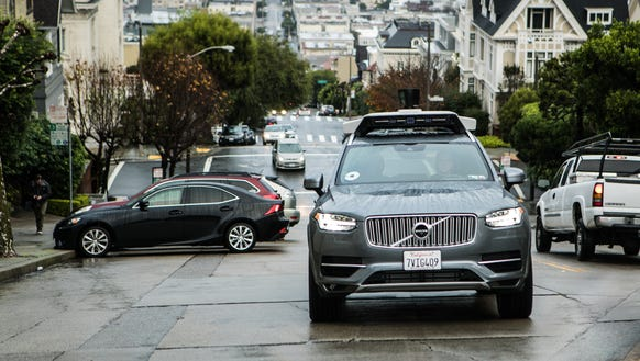 Uber is pulling its self-driving cars from California