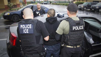 Some have accused Immigration and Customs Enforcement (ICE) agents of targeting immigrant rights advocates