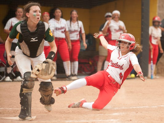 Vineland Softball state semifinal