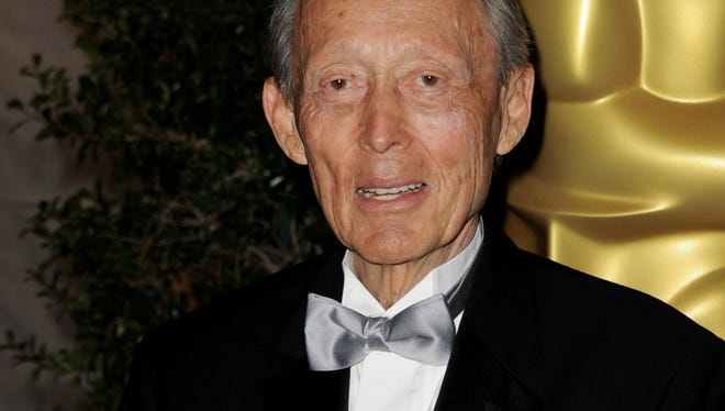 Makeup artist Dick Smith arrives at the Academy of Motion Picture Arts and Sciences' 3rd Annual Governors Awards at the Hollywood & Highland Grand Ballroom on November 12, 2011 in Los Angeles, California.