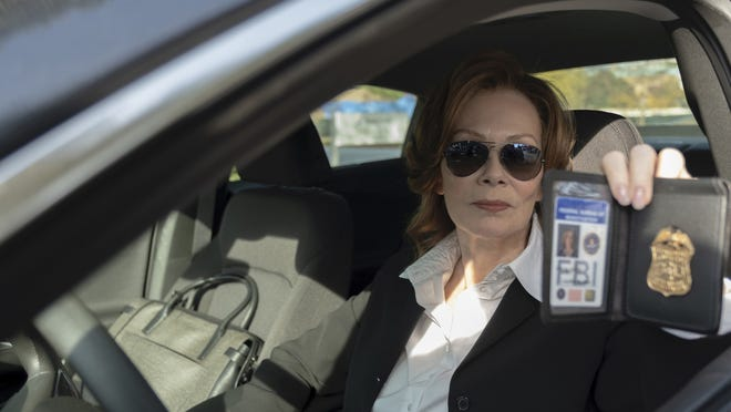 "Jean Smart as FBI agent Laurie Blake in HBO's ""Watchmen."""