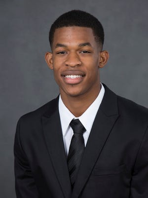 Centenary's Travion Kirkendoll is the SCAC Player of the Week.