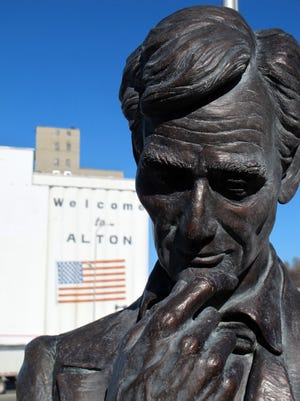 An Alton, Ill., memorial to the final Lincoln-Douglas Debate is a part of the Abraham Lincoln National Heritage Area, which encompasses 42 counties in central Illinois.