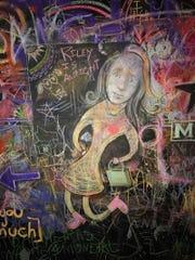 Ann Arbor chalk artist David Zinn, who hosted this