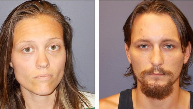 Johnathan Parsley, 28, and AshLeigh Peach, 30, are accused of starving a 5-year-old boy as punishment. Each face a felony count of a dependent resulting in serious bodily injury.