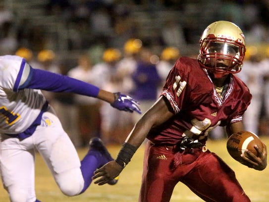 Riverdale's Marqwell Odom (11) will be part of the