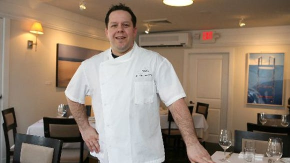 Chef Eric Gabrynowicz at Restaurant North in Armonk,