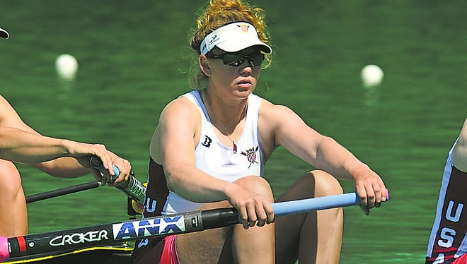 Lauren Schmetterling, a 2006 Moorestown High School graduate, will row on the U.S. Women's Eight boat during the Rio Olympics.