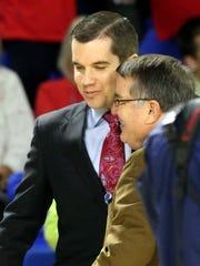 Ole Miss head women's basketball coach Matt Insell,