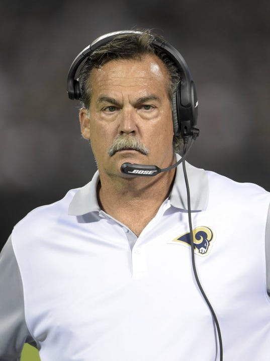 Jeff Fisher Wants Rams To Think About One Move Up In The