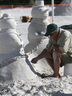 The American Sandsculpting Championship opens today on Fort Myers Beach.