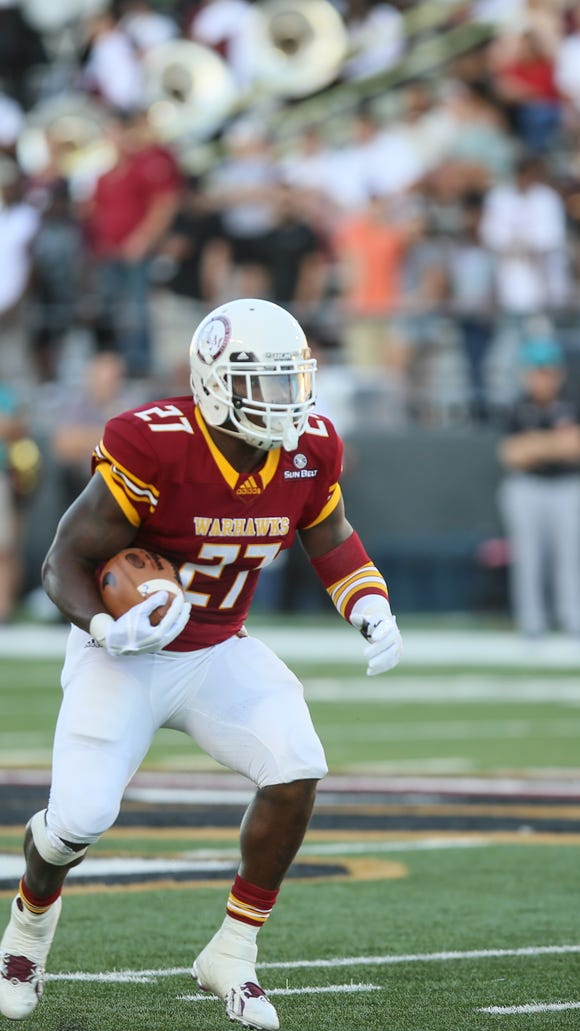 ULM leads the Sun Belt Conference in rushing (205.3 yards per game) after dropping 307 yards on South Alabama in a 33-23 loss last Saturday.