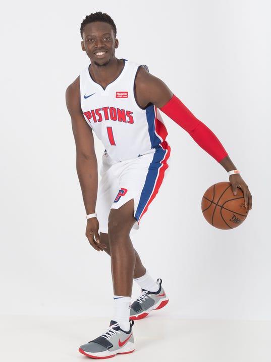 2017-18 Detroit Pistons Media Day