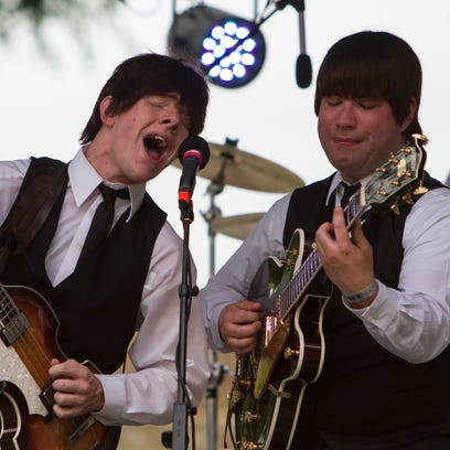 Al Francis, left, and Robert Murray of Beatles Tribute