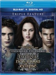 Kristen Stewart and Robert Pattinson star in 'The Twilight Saga: Extended Edition.