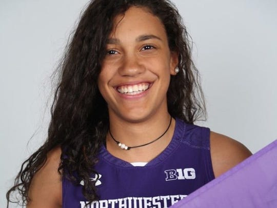Laya Hartman will play her college basketball at Northwestern