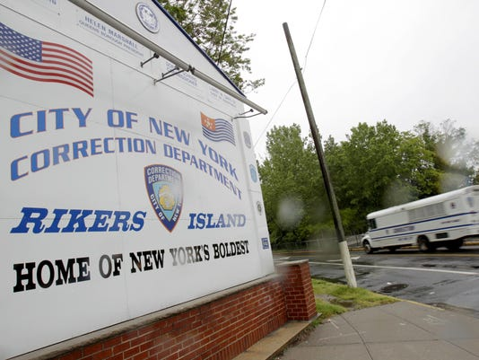 Rikers Island sign file