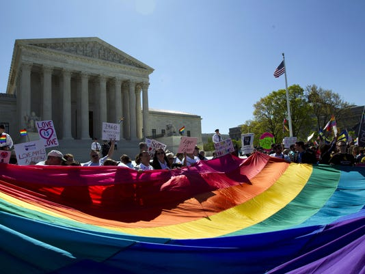 AP SUPREME COURT GAY MARRIAGE A FILE USA DC