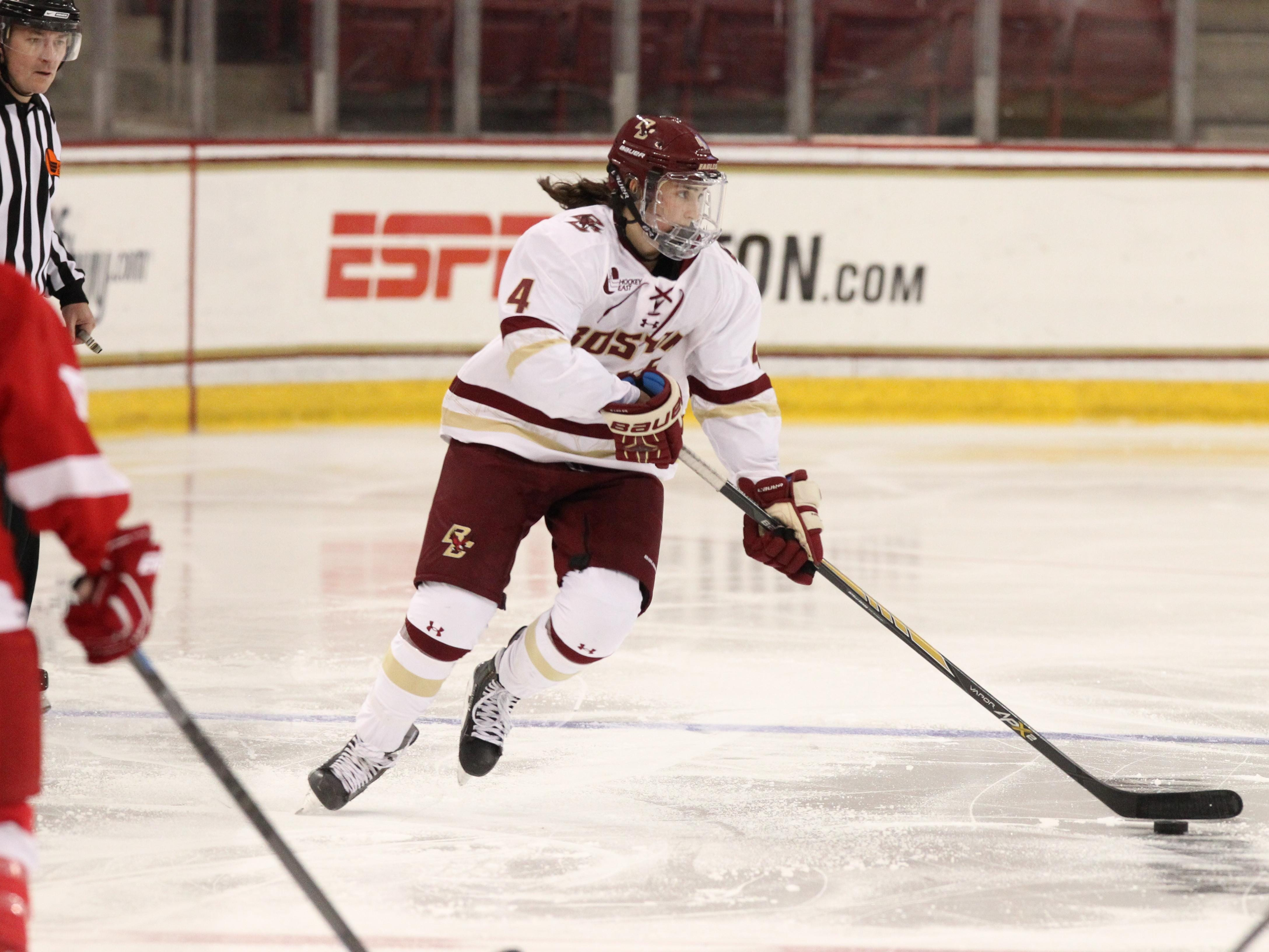 Megan Keller of Farmington Hills also played a key role in the offense. She had four goals and 20 assists in her first season of collegiate hockey.