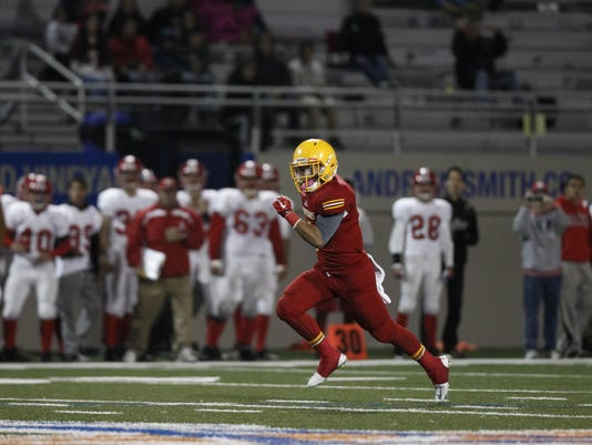 CCS Football: Palma vs. San Benito