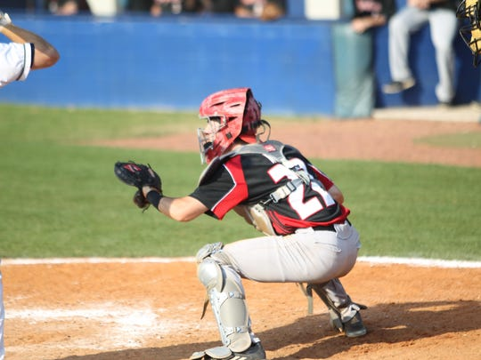 NFC catcher Taylor Schmidt had an RBI double and called a good game for pitcher Cole Ragans in a 2-1 win over Maclay on Thursday.