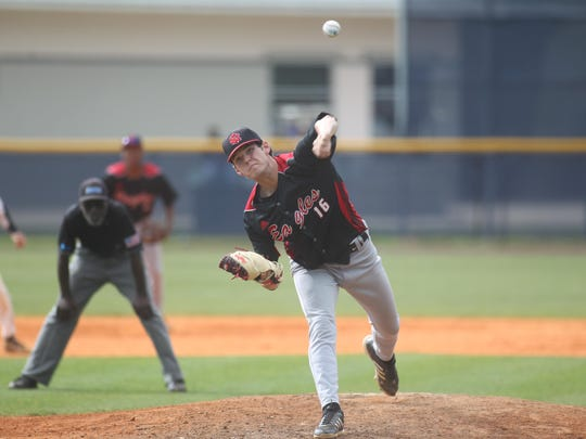 NFC pitcher Cole Ragans struck out 11 batters in a 2-1 win over Maclay on Thursday.