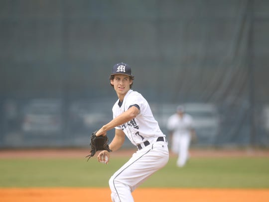 Maclay's Matt Boynton started the district championship game against NFC but left after two innings as the Eagles scored two runs in what turned out to be a 2-1 game.