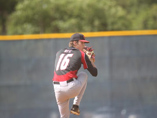 NFC pitcher Cole Ragans is 9-1 on the year with a 1.02 earned-run average.